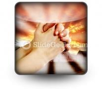 Prayer Warrior PowerPoint Icon S