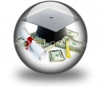 Price Leaving Certificate PowerPoint Icon C