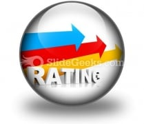 Rating Ppt Icon For Ppt Templates And Slides C