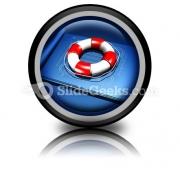 Rescue Plan PowerPoint Icon Cc