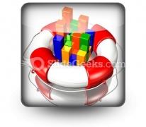 Rescue Statistics PowerPoint Icon S