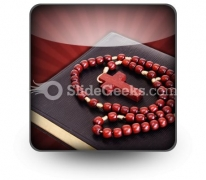 Rosary PowerPoint Icon S