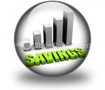 Savings PowerPoint Icon C