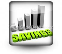 Savings PowerPoint Icon S
