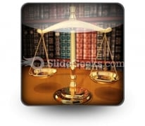 Scales Of Justice PowerPoint Icon S