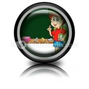 School Boy PowerPoint Icon Cc