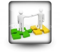 The Successful Agreement Business PowerPoint Icon S