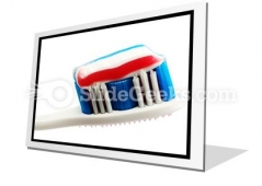 Toothbrush PowerPoint Icon F