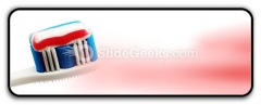 Toothbrush PowerPoint Icon R