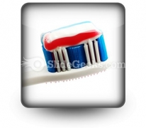 Toothbrush PowerPoint Icon S