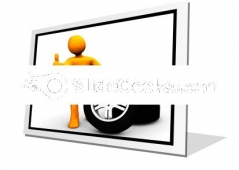 Wheel Garage Ok Ppt Icon For Ppt Templates And Slides F