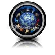 Zodiac Signs PowerPoint Icon Cc