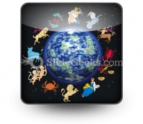 Zodiac Signs PowerPoint Icon S