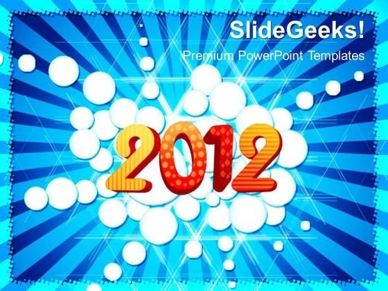 2012 Abstract Background PowerPoint Templates And PowerPoint Themes 0412