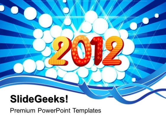 2012 Abstract Background PowerPoint Templates And PowerPoint Themes 0512
