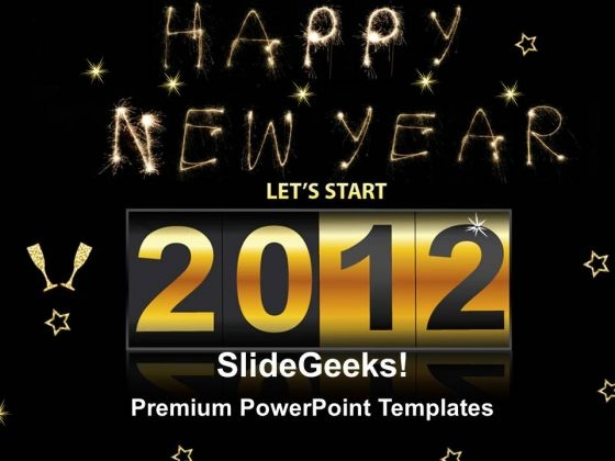 2012 On Dashboard Festival PowerPoint Templates And PowerPoint Themes 0212