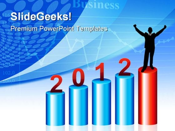 2012 Success Business PowerPoint Templates And PowerPoint Backgrounds 1211