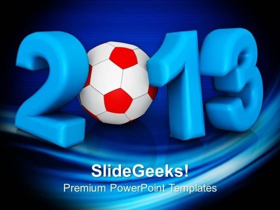 2013 Football Sports Game PowerPoint Templates Ppt Backgrounds For Slides 1112
