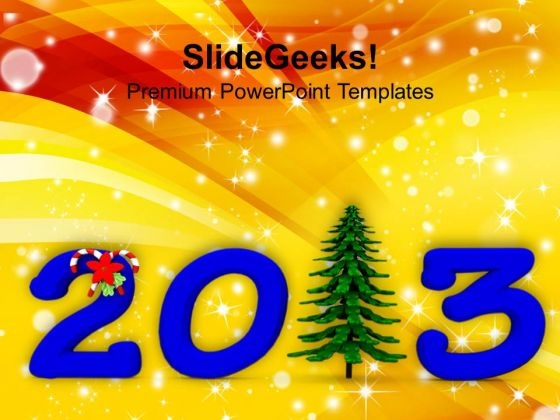 2013 Pine Tree Festival PowerPoint Templates Ppt Backgrounds For Slides 1212