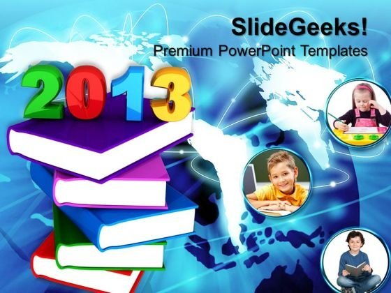 2013 School Education Children PowerPoint Templates And PowerPoint Themes 0612