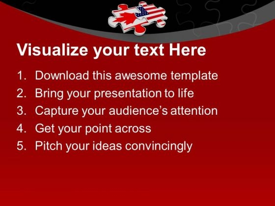 2_interconnected_puzzle_pieces_america_flag_powerpoint_templates_ppt_backgrounds_for_slides_0313_text