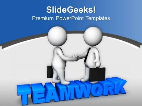 Teamwork Powerpoint Template Image collections - template design ...