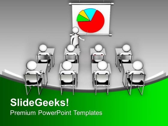 3d Illustration Of Business Presentation PowerPoint Templates Ppt Backgrounds For Slides 0213