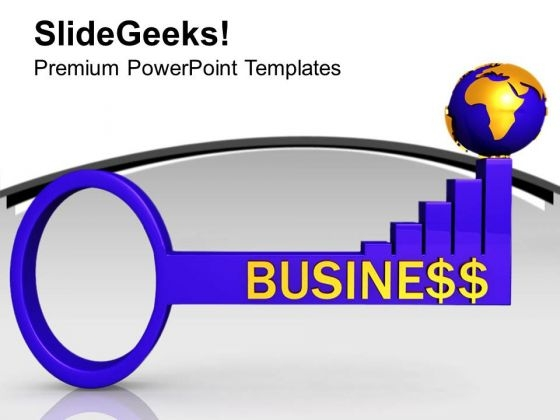 3d Illustration Of Global Business PowerPoint Templates Ppt Backgrounds For Slides 0213