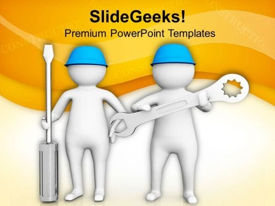 3d Image Of Repair And Maintenance PowerPoint Templates Ppt Backgrounds For Slides 0813