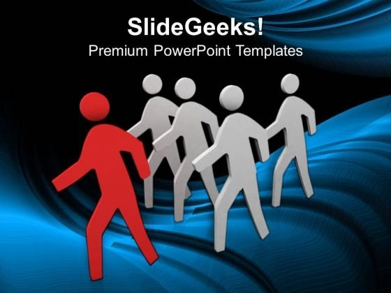3d Image Of Running Man PowerPoint Templates Ppt Backgrounds For Slides 0813