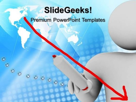 3d Man Global Business PowerPoint Templates And PowerPoint Themes 1012
