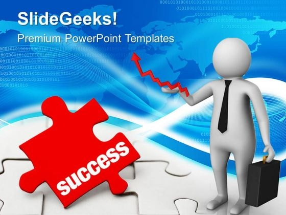3d Man Looking For Opportunity To Success PowerPoint Templates Ppt Backgrounds For Slides 0813