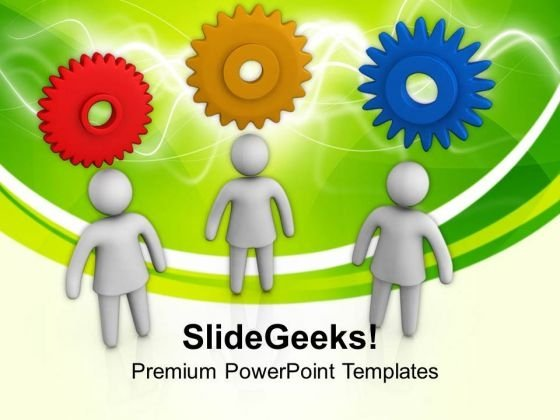 3d Men With New Ideas PowerPoint Templates Ppt Backgrounds For Slides 0813