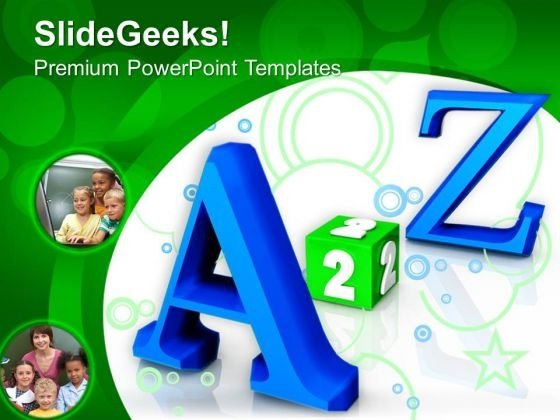 A 2 Z Future PowerPoint Templates And PowerPoint Themes 0912