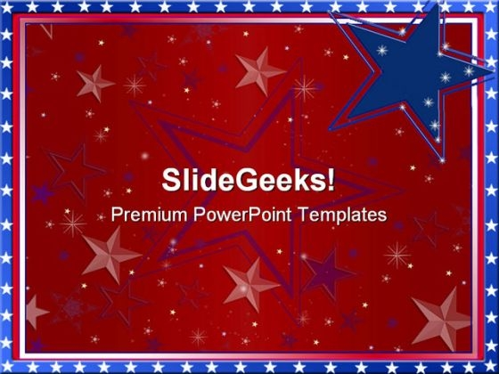 Abstract Background Americana PowerPoint Templates And PowerPoint Backgrounds 0711