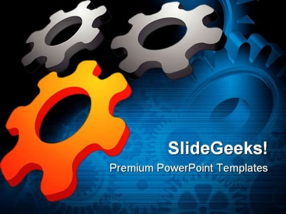 Abstract Design Element Industrial PowerPoint Themes And PowerPoint Slides 0511