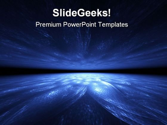 Abstract Water And Sky Globe PowerPoint Themes And PowerPoint Slides 0411