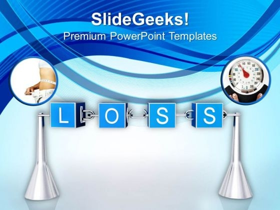 Accept The Loss In Business PowerPoint Templates Ppt Backgrounds For Slides 0613
