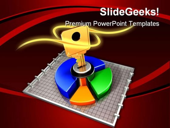 Accessing The Data Security PowerPoint Template 1010