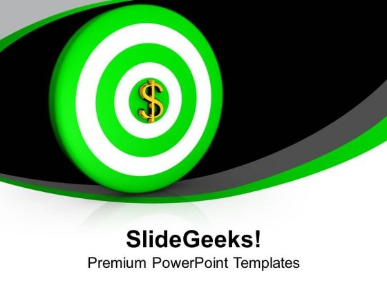 Achieve The Targets For Business Growth PowerPoint Templates Ppt Backgrounds For Slides 0513