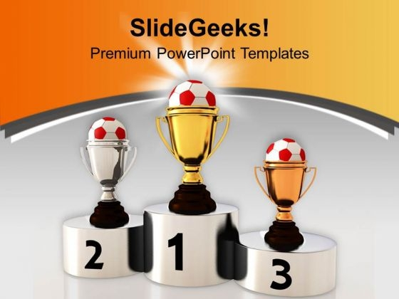 Achievement Of Success Competition PowerPoint Templates Ppt Backgrounds For Slides 0413