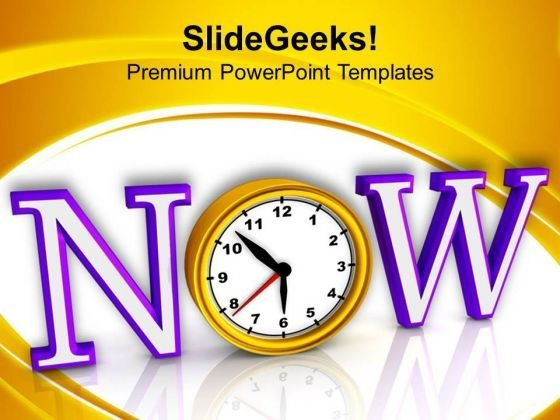 Act Now For Success PowerPoint Templates Ppt Backgrounds For Slides 0613