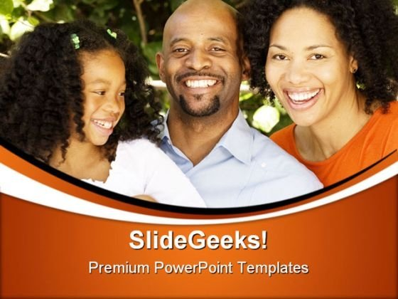 African American Family PowerPoint Themes And PowerPoint Slides 0411