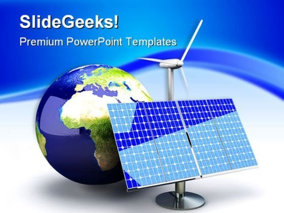 Alternative Energy Global PowerPoint Themes And PowerPoint Slides 0211