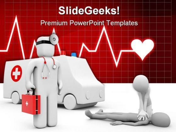 Ambulance Medical PowerPoint Themes And PowerPoint Slides 0511