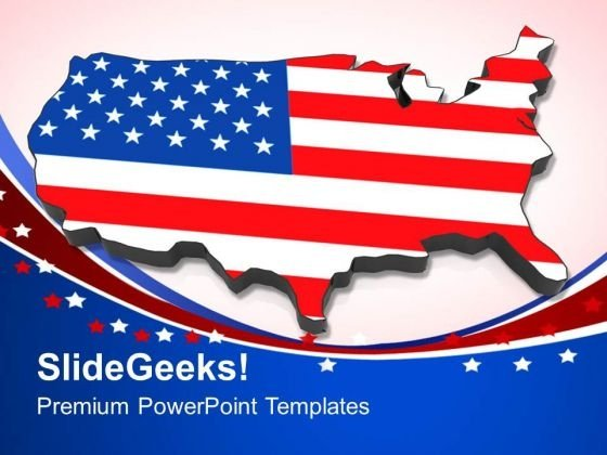America Is A Great Country PowerPoint Templates Ppt Backgrounds For Slides 0713