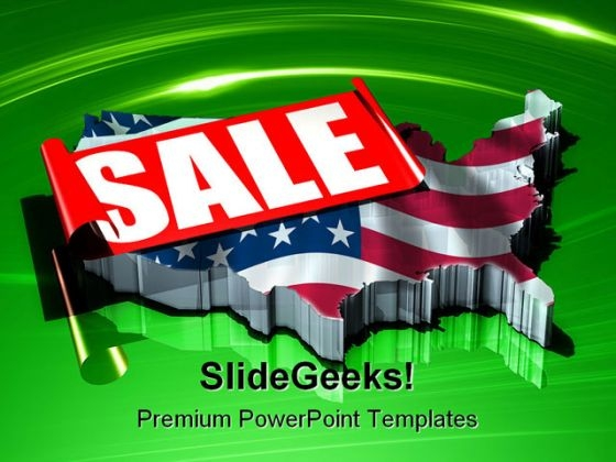 America On Sale Americana PowerPoint Themes And PowerPoint Slides 0411