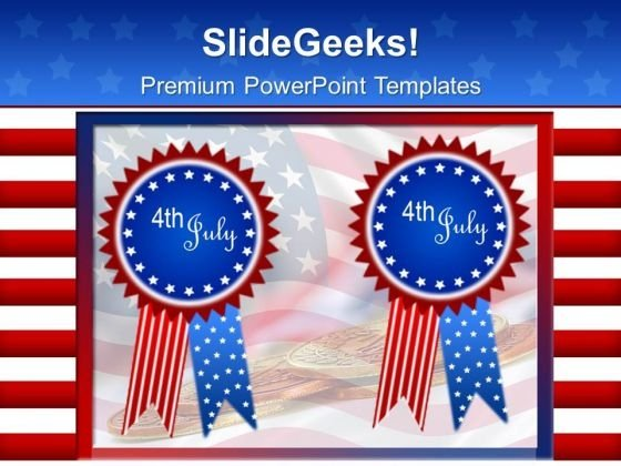 American Independence Usa July 4th PowerPoint Templates And PowerPoint Themes 0612