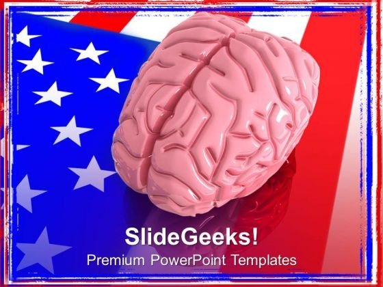 American Intelligence Is Remarkable PowerPoint Templates Ppt Backgrounds For Slides 0713