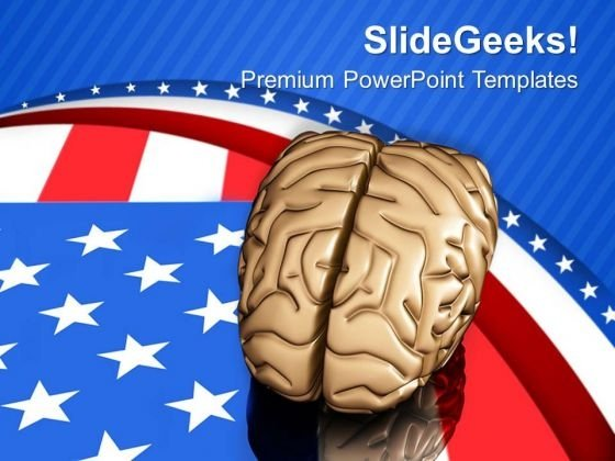 Americans Are Very Intelligent PowerPoint Templates Ppt Backgrounds For Slides 0713